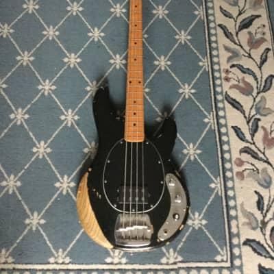 Music Man Stingray Bass Guitar 1977 Black for sale