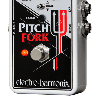 Electro-Harmonix Pitch Fork w/ Power Supply!  Free 2 Day Shipping! image