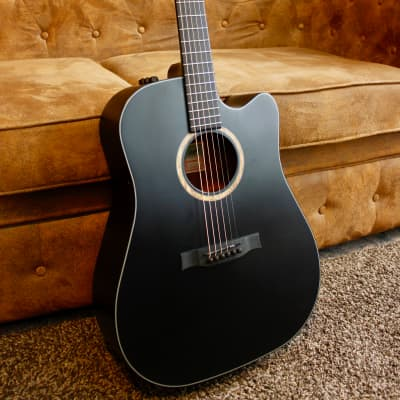 Stanford guitars Durango DM 40 CM ECW BKS Black Matte for sale