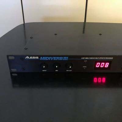 Alesis Midiverb 3 III, org. power supply, manual