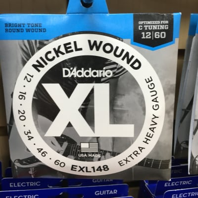 D'Addario EXL148 Nickel Wound Electric Guitar Strings, Extra-Heavy Gauge