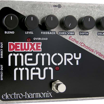 Electro Harmonix Deluxe Memory Man Analog Delay/Chorus/Vibrato for sale