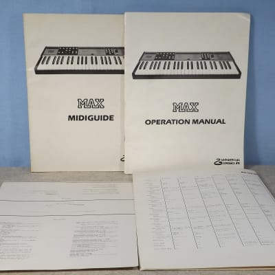 SCI Max User Manuals