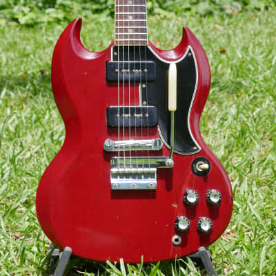 1965 Gibson SG Special Cherry P90's 1 & 9/16