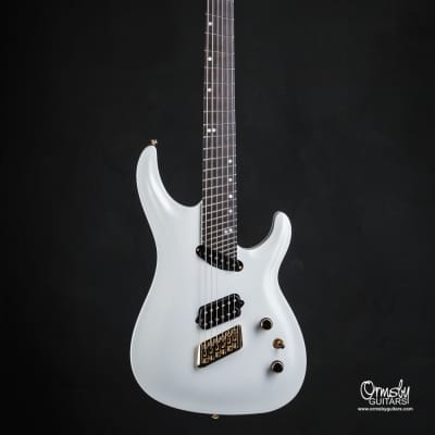 Ormsby SX GTR 6 string Multiscale 10th Anniversary 2019 Platinum Pearl Gloss for sale