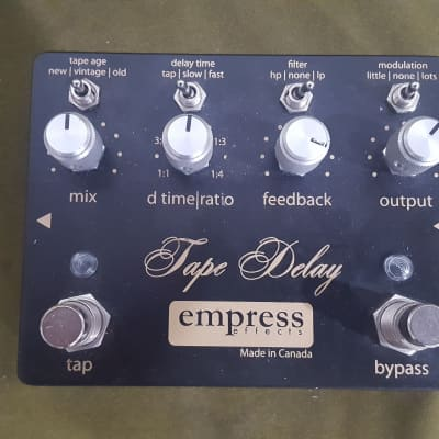 Empress Tape Delay Pedal