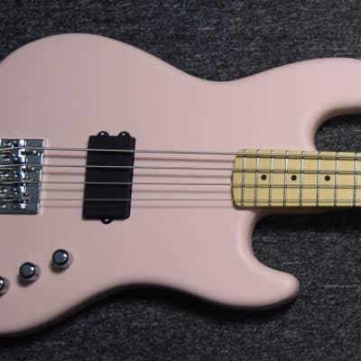 Fender Flea Signature Jazz, Shell Pink w/ Maple Fingerboard B-Stock / Full Warranty