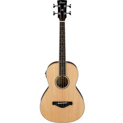 Ibanez AVNB2E 4-String Acoustic-Electric Bass - Natural High Gloss for sale