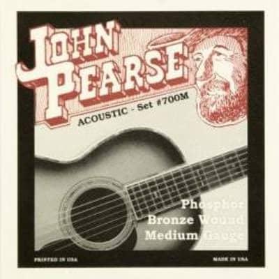 John Pearse Strings Acoustic Strings Phosphor Bronze Medium 13-56