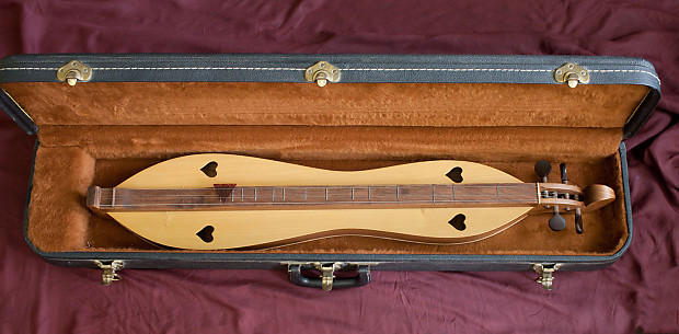 Homer Ledford Dulcimer (Closet Treasure made from Civil War Slave cabin)