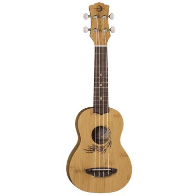 Luna Bamboo Soprano Ukulele w/Gigbag for sale