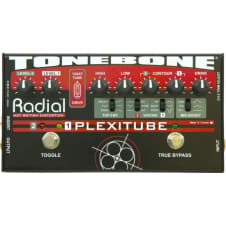 TONEBONE - PEDALE PREAMP A LAMPE 12AX7,DISTO,OVERDRIVE 3 CANAUX