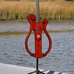 Price Drop! Bayou Basses Barred Owl 2017 Transparent Red for sale