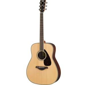 Yamaha FG830 Acoustic Guitar Natural