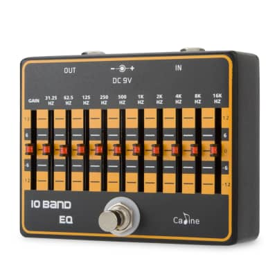 Caline CP-24 10 Band EQ Equalizer Pedal - Shape your tone..