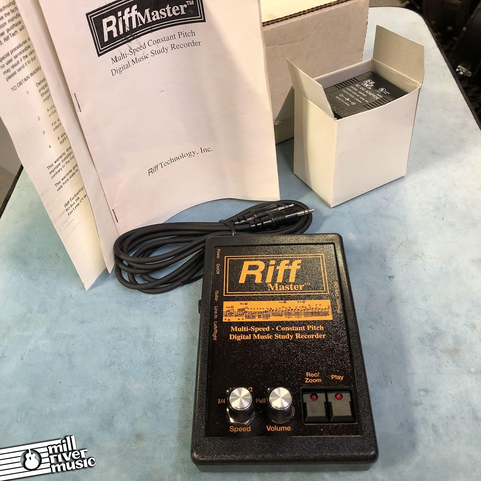 Riff Master Digital Music Study Recorder w/ Box & Power Supply