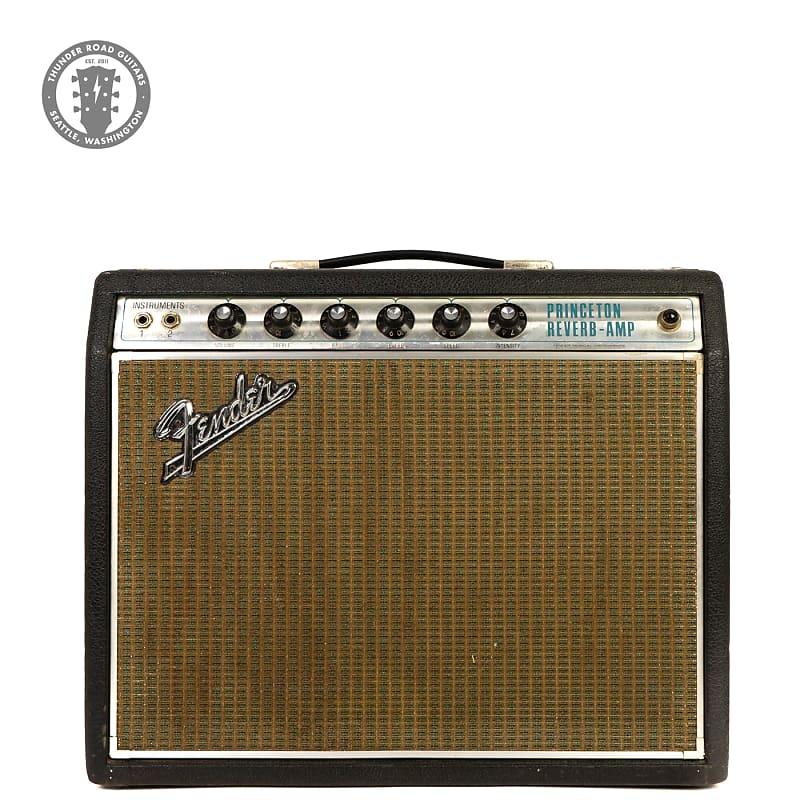 1968 Fender Princeton Reverb Drip Edge Silverface 1x10 Combo