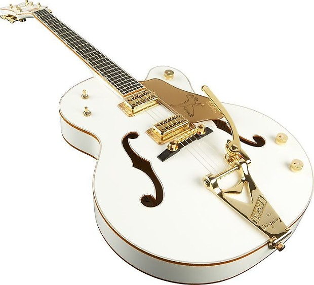 gretsch g6136t white falcon hollow body electric guitar reverb. Black Bedroom Furniture Sets. Home Design Ideas