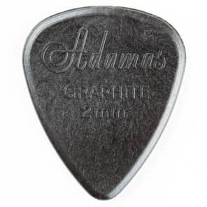 Dunlop 15R Adamas Electric Guitar Picks Jerry Garcia 12-Pack 2.0mm Graphite