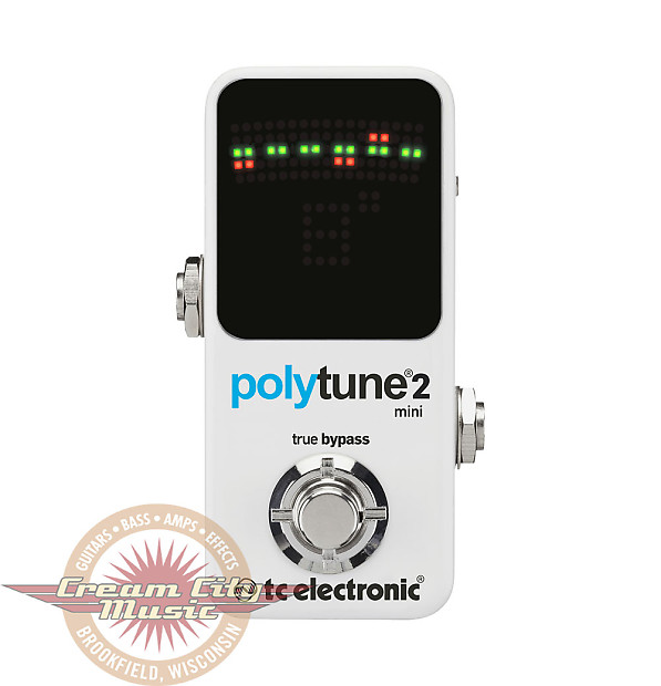 brand new tc electronic polytune 2 mini guitar pedal tuner reverb. Black Bedroom Furniture Sets. Home Design Ideas