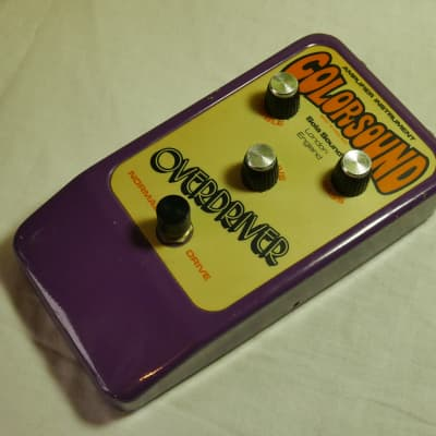 Colorsound Overdriver 1978?  Purple for sale
