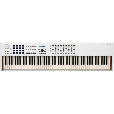 Arturia KeyLab 88 MKII 88-Key Piano Action Master DAW Controller Keyboard White