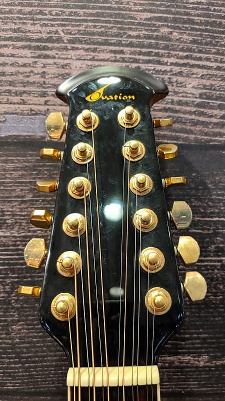 ovation cc 245 acoustic electric 12 string guitar w hsc reverb. Black Bedroom Furniture Sets. Home Design Ideas