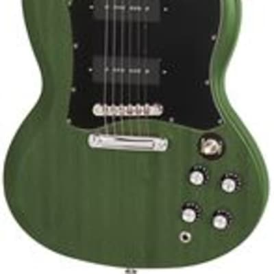 Epiphone SG Classic Worn P90s Inverness Green