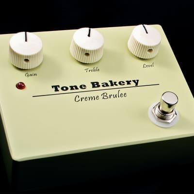 Tone Bakery Creme Brulee Overdrive Boost Pedal
