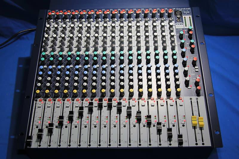 Soundcraft Gb2r 16 Channel Rackmount Mixer Reverb