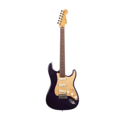 2005 Fender Custom Shop Custom Classic Player V Neck Stratocaster Electric Guitar, Midnight Blue, CZ51832 for sale