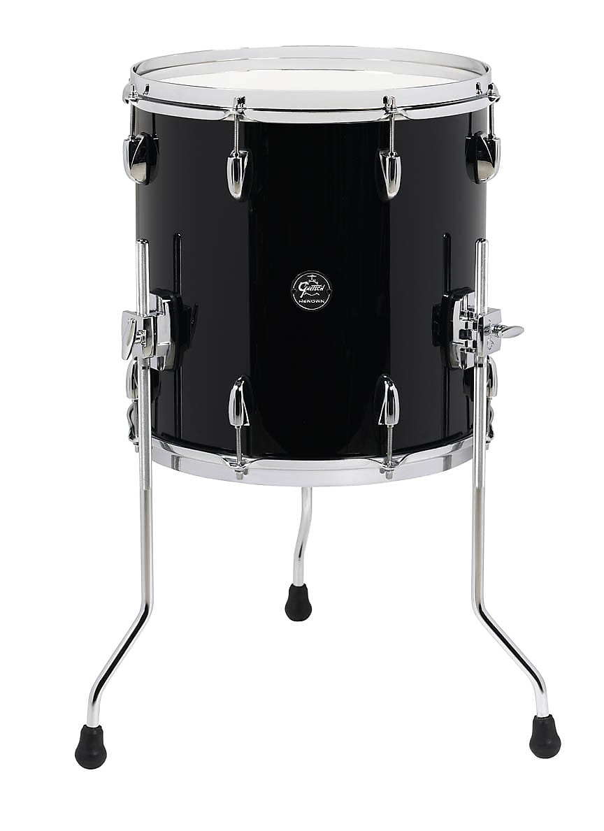 Gretsch Renown 14 X 14 Floor Tom In Piano Black Rn2 1414f Pb