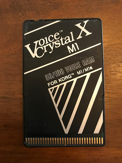 Voice Crystal X 50/100 RAM Card for Korg M1(r), Wavestation, A Series,  DS-8, Waldorf Microwave