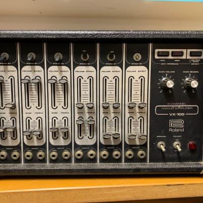 Roland VX-100 Mixing Amplifier 6-Channel Powered Mixer