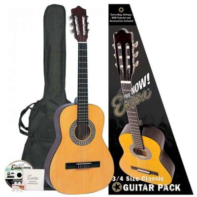 Encore ENC34OFT Classic 3/4 Guitar Pack for sale
