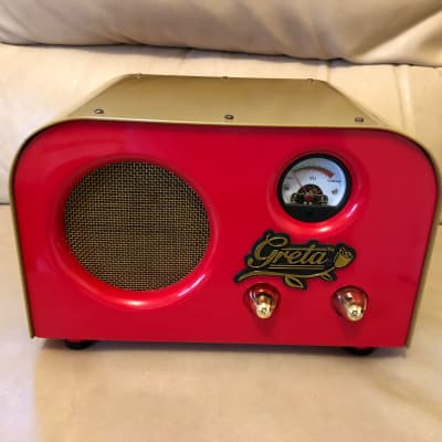 Fender Fender Pawn Shop Special Greta 2W 1x4 Tube Guitar Combo Amp 2012 Red for sale