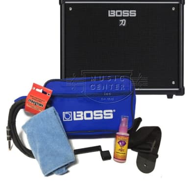 Boss Guitar Promo Accessory Pack, Blue
