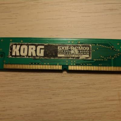 Korg EXB-PCM09 Trance Attack Triton/Karma Expansion ROM