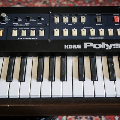Japan Korg PolySix Analog Polyphonic Synth 1980s