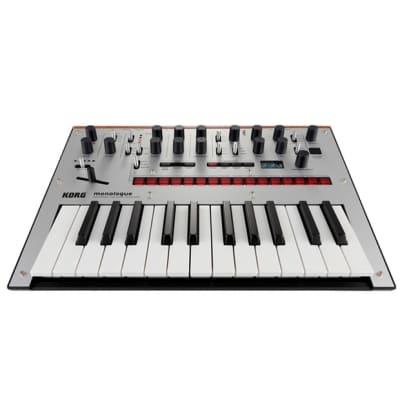 Korg Monologue Analogue Synthesizer - Silver