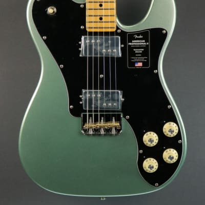 NEW Fender American Professional II Telecaster Deluxe - Mystic Surf Green (339)