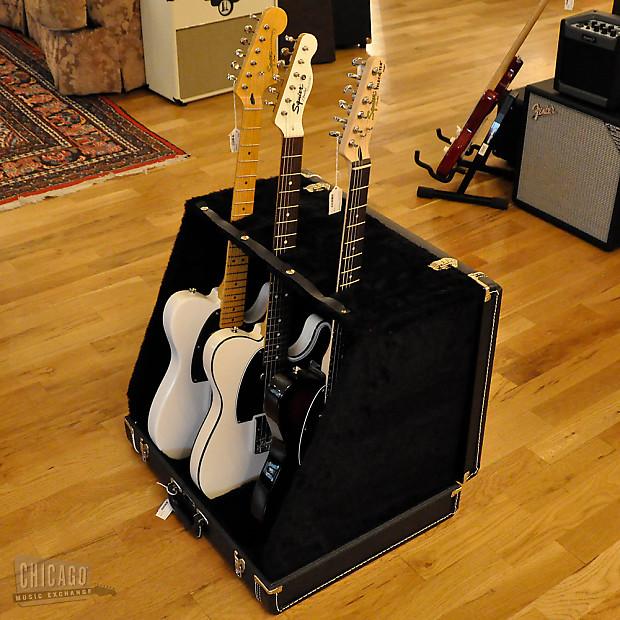 fender 3 guitar case stand reverb. Black Bedroom Furniture Sets. Home Design Ideas