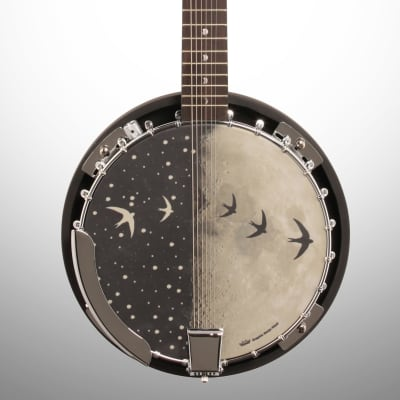 Luna Moonbird Acoustic-Electric Banjo, 6-String for sale