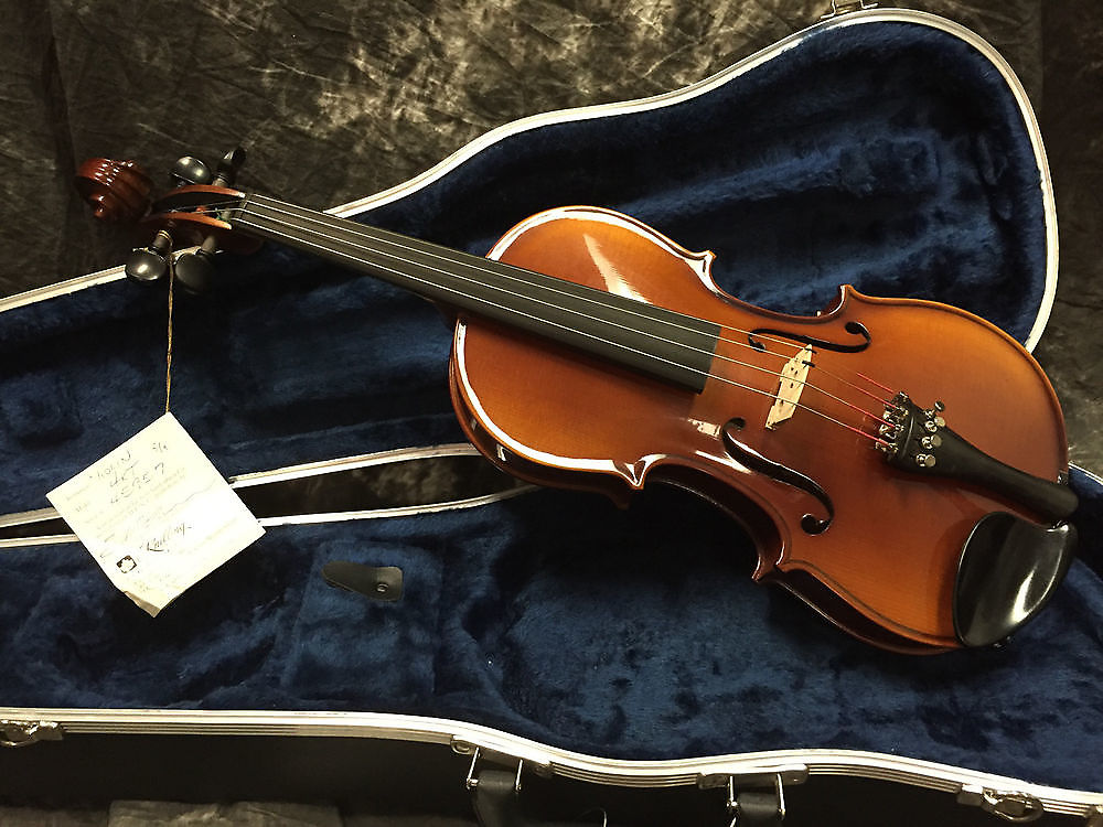 Knilling 4KT 3/4 Size Student Violin Outfit, Glasser Bow and Case
