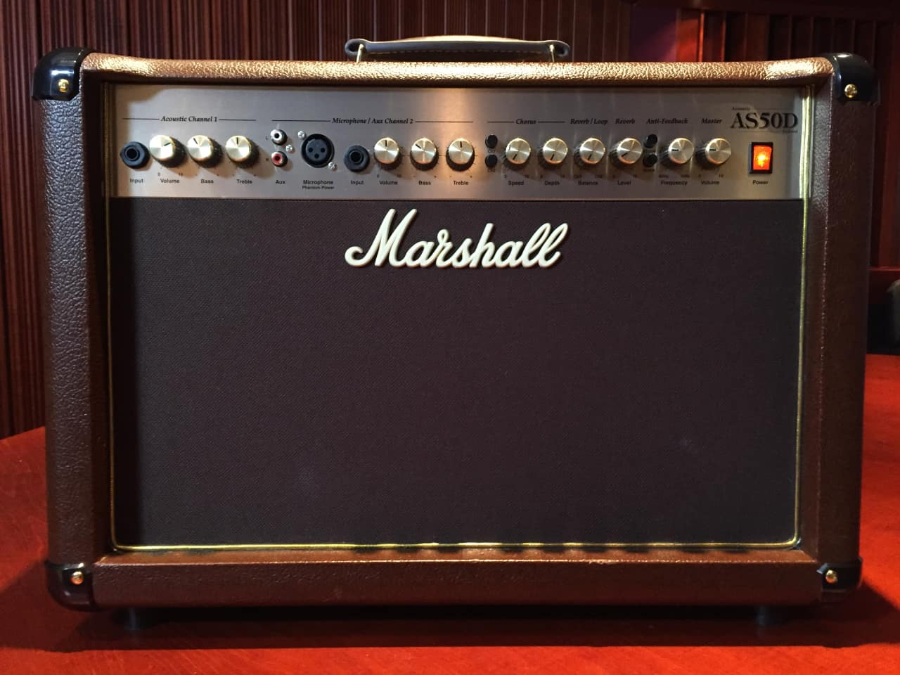 marshall as50d two channel acoustic guitar amp reverb. Black Bedroom Furniture Sets. Home Design Ideas