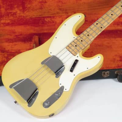 Fender Telecaster Bass 1969 Blonde with Case Light Weight 8.25 pounds for sale