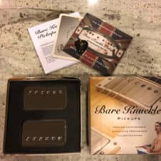 Bare Knuckle Rebel Yell Pickups 2017 Nickel