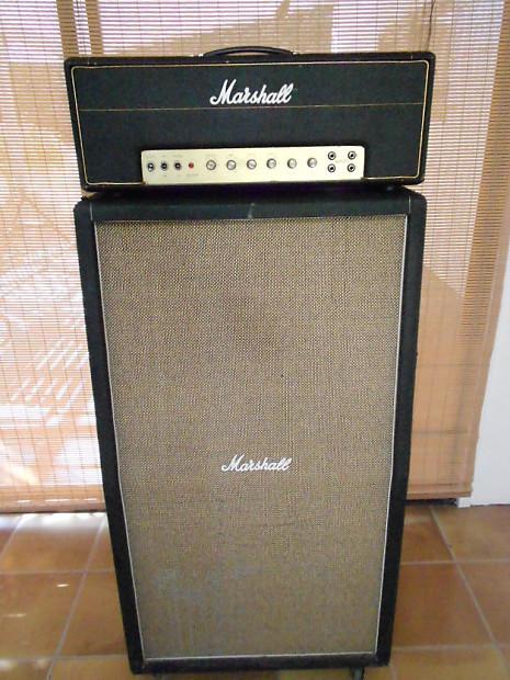 Vintage Marshall 50 Watt Small Box Plexi W Original 8 X 10