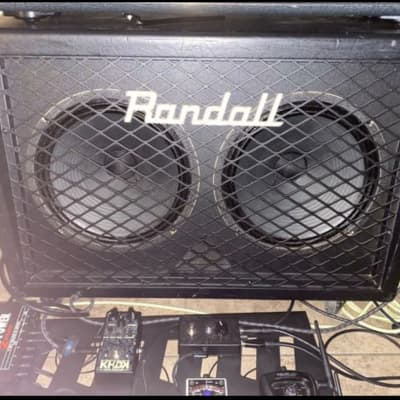 Randall RD212 V30 ANGLED CAB 2019