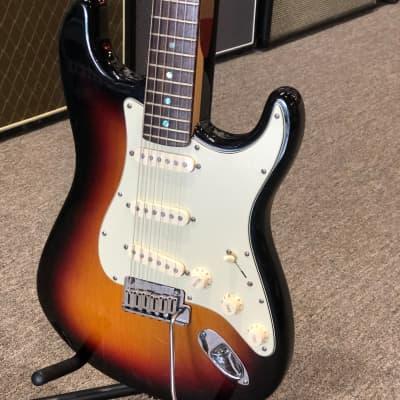 2004 Fender American Deluxe Stratocaster 3-Tone Sunburst for sale
